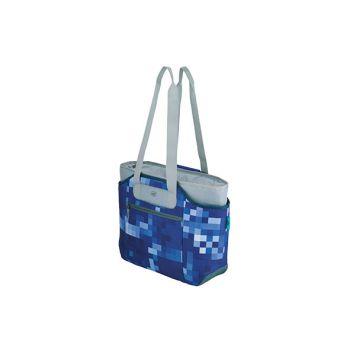 Alfi Isobag Koeltas 2delig Blue Squares