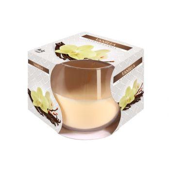 Cosy & Trendy Ct Geurkaars Glas Vanille-beige 24u