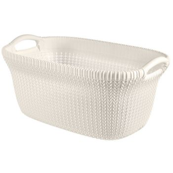Curver Knit Wasmand 40l Oasis White