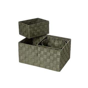 Cosy & Trendy Expert Mand Kaki Set4 Nylon 34.5x245x17