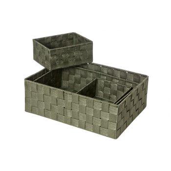 Cosy & Trendy Expert Mand Kaki Set4 Rh Nylon35x25.5x12