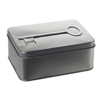 Cosy & Trendy Doos 3d Zilver Sleutel 14.5x10.5xh5.8cm