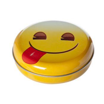 Cosy & Trendy Snoepdoosje Smileys D12xh3.5cm
