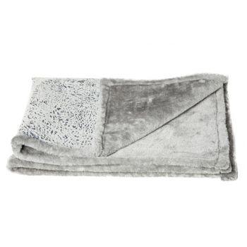 Cosy & Trendy Deken Huisdier Medium Grijs 88.5x68.5cm