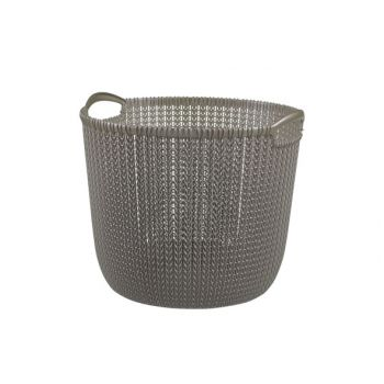 Curver Knit Mand L  R0 30l Harvest Brown