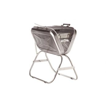 Cosy & Trendy Travel Bbq Roestvrij Staal 58.5x43xh66cm
