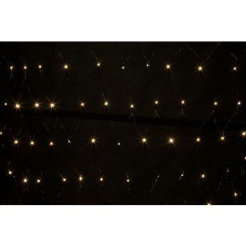 Light Creations Netlight Led 2x2m 144l Warmwit Steady