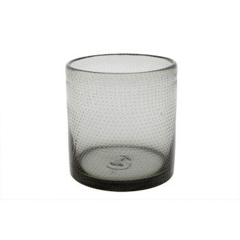 Cosy @ Home Windlicht Bubble Grijs D15xh15.5cm