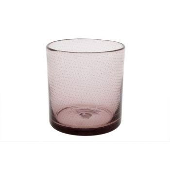 Cosy @ Home Windlicht Bubble Roze D12xh13cm