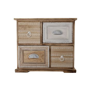 Cosy @ Home Kastje 4 Lades Josephine Hout 47x15.5x41