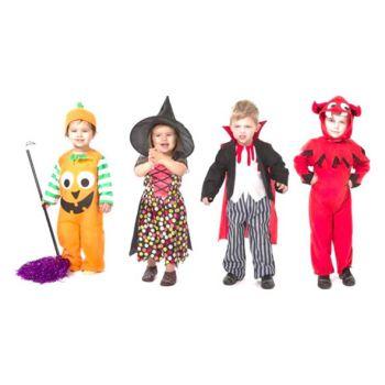 Goodmark Halloween Kostuum Kleuter 1-4 Jaar 4 Types