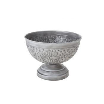 Cosy & Trendy Bowl Op Voet 20.5x20.5x15cm Metaal Gr.