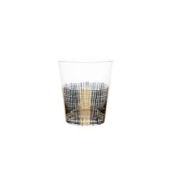 Cosy & Trendy Glas Goud Set4 40cl D8,8xh10cm