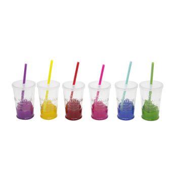 Cosy & Trendy Summer Party Glas D7.5xh13cm Set 6 Types