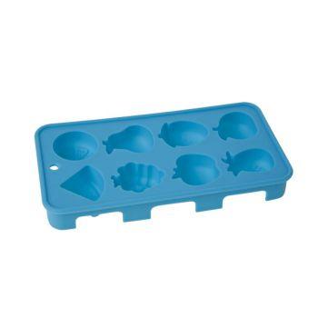 Cosy & Trendy Ijsblokjesvorm Fruit 20x11x2.5cm Blauw