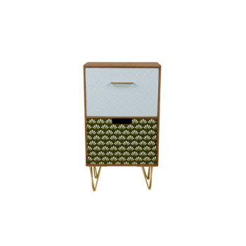 Cosy @ Home Jungle Ladenkast Hout 25.5x17x44.5cm