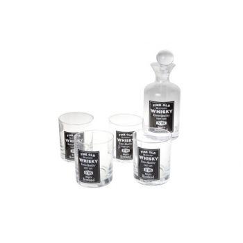 Cosy & Trendy Whiskyglas X4 M.bottle Set5 D8xh10cm