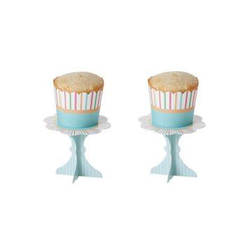 Cosy & Trendy Cake Vormen S16 2 Types Streep-groen 5x4.5