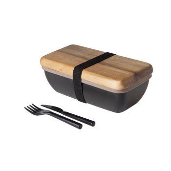 Cosy & Trendy Lunchbox 20x11x7.5cm Met Bestek