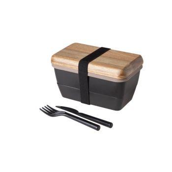 Cosy & Trendy Lunchbox 15.5x9cm Met Bestek