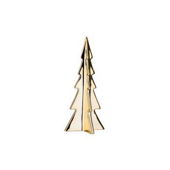 Cosy @ Home Kerstboom Goud Porselein 11,2x11,2xh26,5