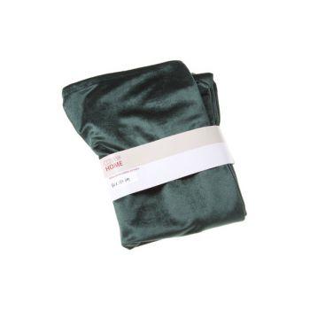 Cosy @ Home Tafelloper Velvet Groen 40x180cm