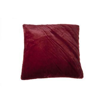 Cosy @ Home Kussen   Bordeaux Vierkant Textiel 45x45