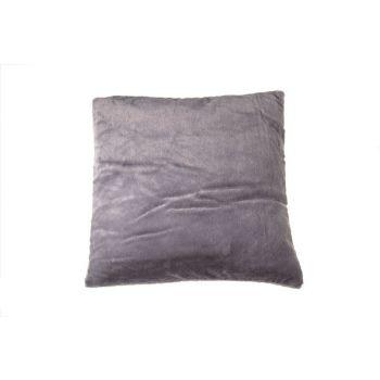 Cosy @ Home Kussen   Donkergrijs Vierkant Textiel 45