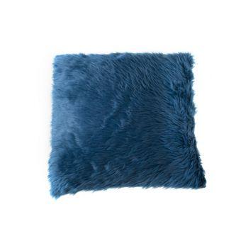 Cosy @ Home Kussen Bont Blauw 45x45cm Synthetisch