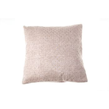 Cosy @ Home Kussen  Roze Vierkant Wol 45x45xh0 With