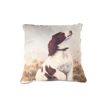 Cosy @ Home Kussen  Beige Vierkant 45x45xh0 With Dog