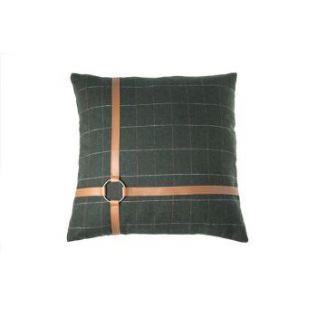 Cosy @ Home Kussen  Groen Vierkant Textiel 45x45xh0