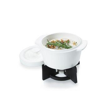 Boska Cheesebaker Ovenpot Wit 400ml-houder