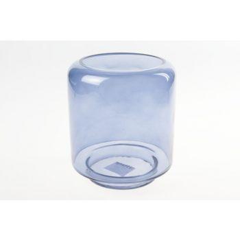 Cosy @ Home Windlicht Blauw Cilindrisch Glas 15x15xh