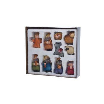 Cosy @ Home Kerststalfiguren Set10 Multi-kleur Keram