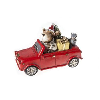 Cosy @ Home Auto Rood Keramiek 20x9xh13 Elk