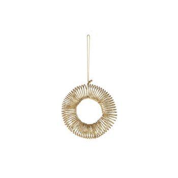 Cosy @ Home Hanger Cirkel Goud Kunststof 0x0xh12,7 G
