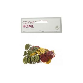 Cosy @ Home Strooideco Uil Multi-kleur Hout 2cm