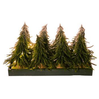 Cosy @ Home Kerstboom S12 Groen Led 20x20xh28