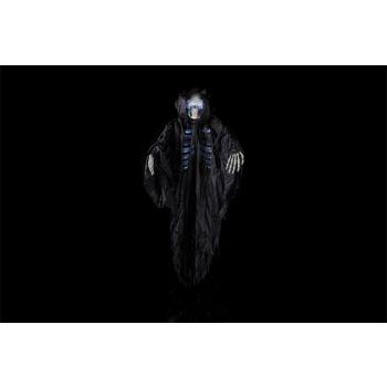 Cosy @ Home Skelet Hangend Zwart Textiel 125x16xh155