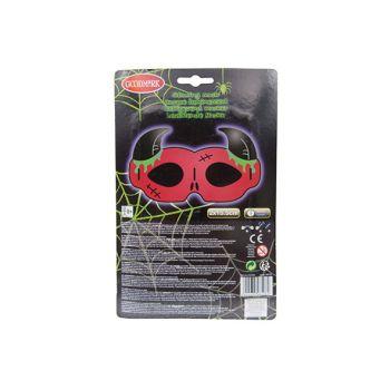 Goodmark Glowing Masker Duivel