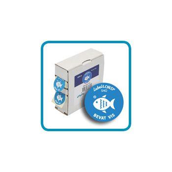 Labellord Allergenen Vis 25mm Rol S500 Labels
