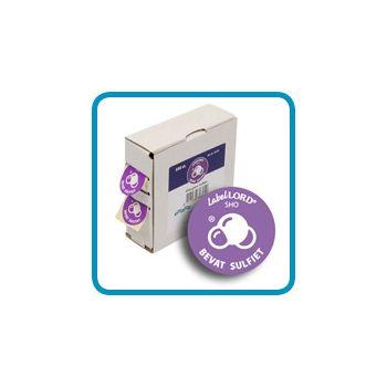 Labellord Allergenen Zwavel 25mm Rol S500 Labels