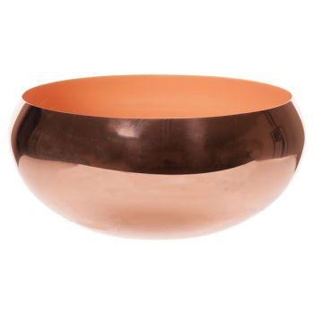 Cosy @ Home Bowl Koraal D20xh9cm Rond Metaal