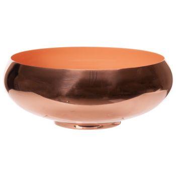Cosy @ Home Bowl Koraal D29,5xh11cm Rond Metaal