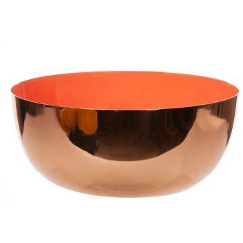 Cosy @ Home Bowl Koraal D17,5xh7,5cm Rond Metaal