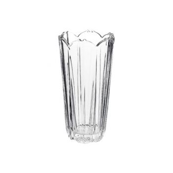 Bormioli Corolla Vaas 23 Cm Transparant Rond Glas