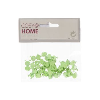 Cosy @ Home Kip Deco 24pcs In Polybag Pastelgroen 2x