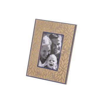 Cosy @ Home Fotokader Gold Blauw 19x1,4xh24cm Rechth