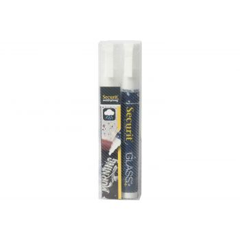 Securit Krijtstift Set2 Waterproof Wit